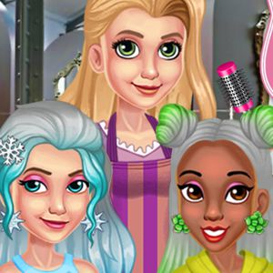 Princess silver hairstyles