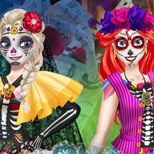 BFFs Day Of The Dead