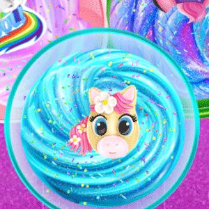 Unicorn Slime Cooking