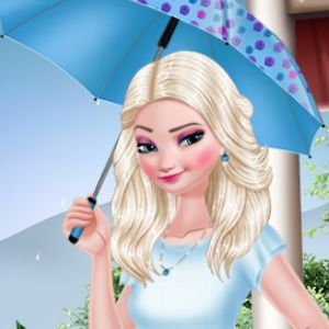 Elsa Rainy Day Fashion
