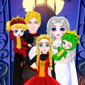 Princess Family Halloween Costume