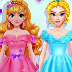 Blonde Princess #DIY Royal Dress